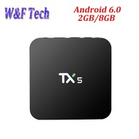 On sale for marshmallow tv box Amologic S905X hot hindi video free download wifi 4K TV BOX hd television made in china