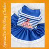 Wholesale Stripe Design Dog Pet Dress Pet pretty clothes/pet dress SHLY-1042