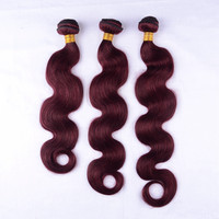 Best body wave hair high quality wholesale red brazilian hair weave