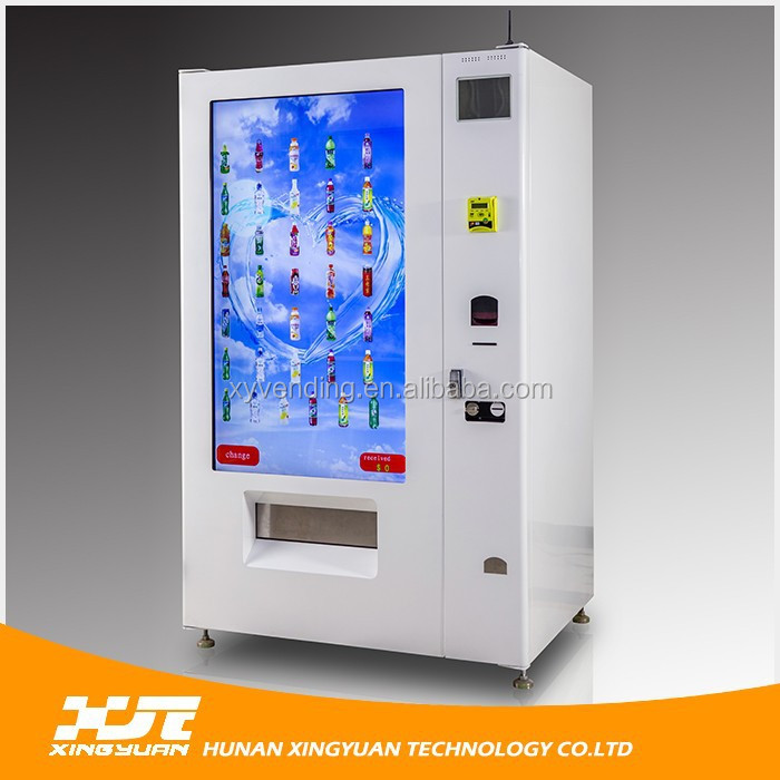 Wholesale new style lcd snack vending machine