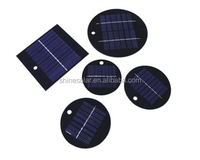 Round PET lamination small solar panel for toys