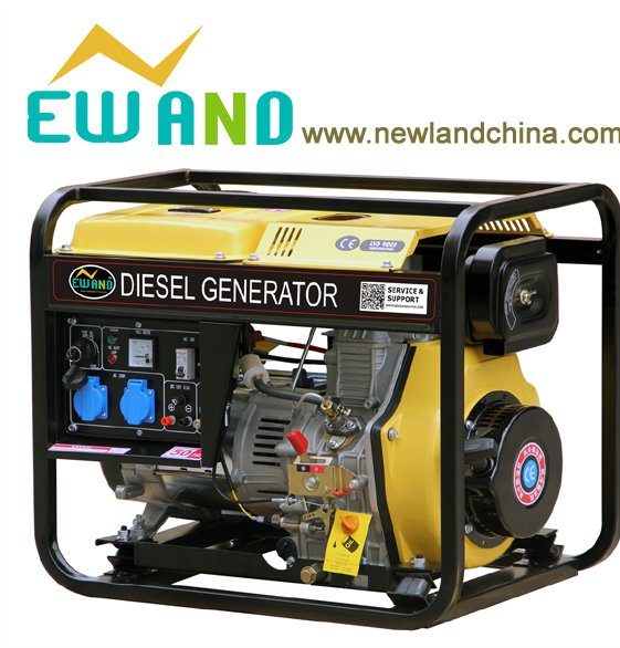 3KW,4KW,5KW,6KW,7KW 100% copper diesel engine generators/open type diesel generator