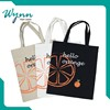 Eco Natural 100% Cotton new design canvas tote bag