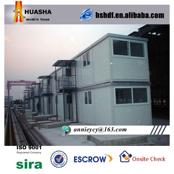 High qualified And Steel Structure Two layers Mobile Container House