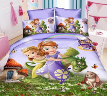 premium wonderful twin size cartoon character bedding set bed sheet kids duvet cover