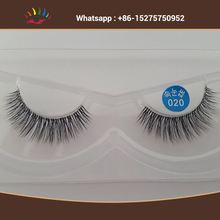 Manufacturer wholesale silk W lashes eyelashes bulk 3D synthetic hair eyelash