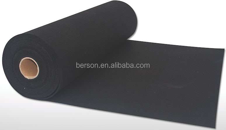Rubber acoustic underlay