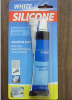 50ml white silicone sealant glue