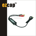 USB Audio capture USB audio converter USB audio recorded EzCAP216C