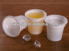 clear/white 3 oz plastic cup,disposable plastic cup