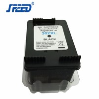 Third Party Brand Chip Reset To Full Level Remanufactured Ink Cartridge 302XL Printer Ink Cartridge Replacement For HP