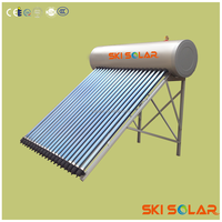 solar water heter with auto filling