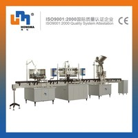 Small Gas Filling Machine Line Carbonated