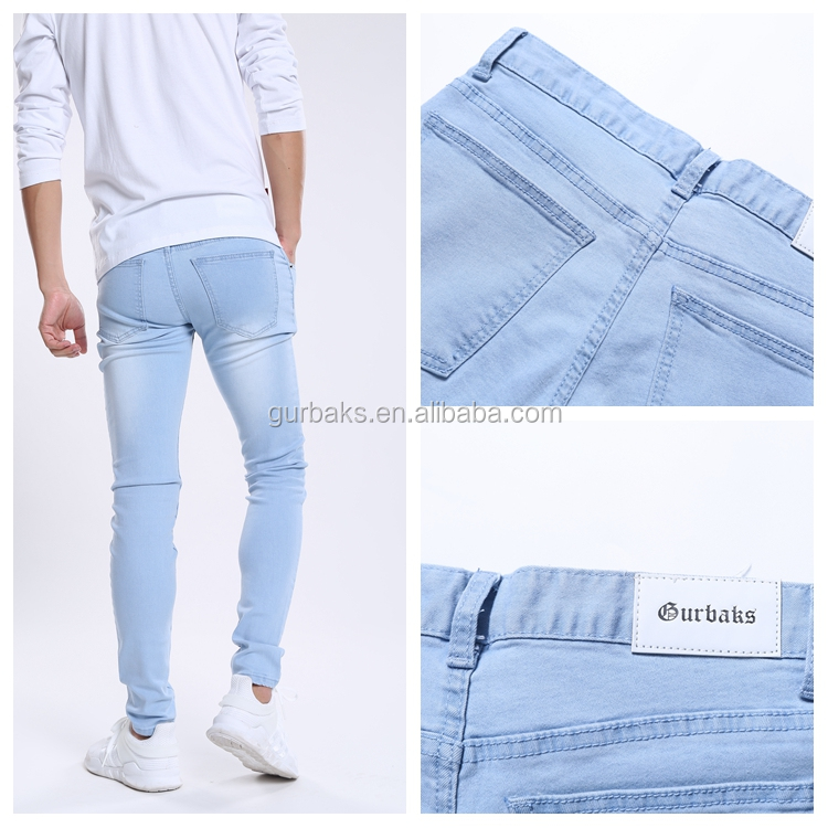 Color Fade Proof New Popular Gents Jeans Pant