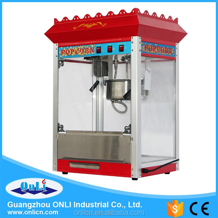 2016 hot selling high quality electric popcorn production line