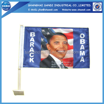 Cheap Wholesale Promotional Car Window Car Flag