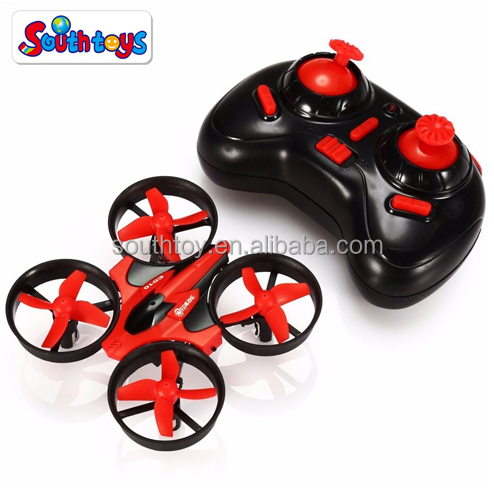 E010 Mini UFO Quadcopter Drone 2.4G 4CH 6 Axis Headless Mode Remote Control Nano Quadcopter