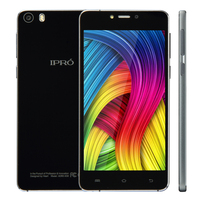 IPRO A58 original new 4g lte 5.0 inch HD AMOLED super slim mobile phones 5.0&quot quad core OEM mobile phone with CE certificate