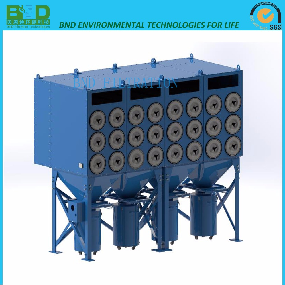Industrial Cyclone Dust Collector For Shot Blasting