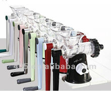 2013 Hot selling Latest Manual Plastic Lexen wheatgrass Juicer