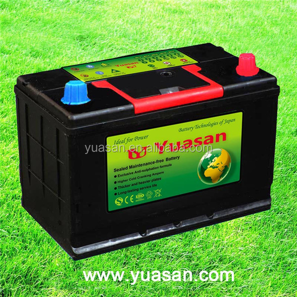 Direct Factory 12V Battery 70AH Korea Designed Calcium Lead Acid MF JIS Car Battery --65D31LMF