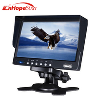 "Sunvisor Placement 7"" Screen Size DVR LCD Monitor"