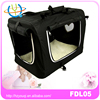 Lovely portable luxury convenient pet carrier bags movable custom soft side dog crate