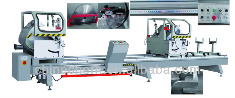 Aluminum Profile Cutting Saw Window Door Double Mitre Cutting Saw Machine/double Mitre Saw For Aluminum