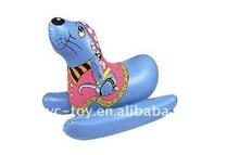 promotional pvc inflatable riderfor kids