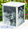 high quality Custom acrylic wedding invitation card box.factory wholesale