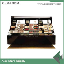 Furniture for makeup store cosmetic display showcase table