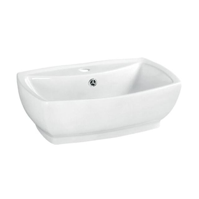 Wholesale cheap price new model bathroom irregular ceramic wash hand art above mount sinks
