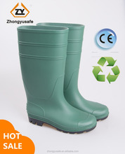Big Promotion/factory pvc transparent men clear custom waterproof fishing rain boots