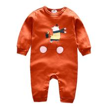 High quality cotton animal printed rompers babywear