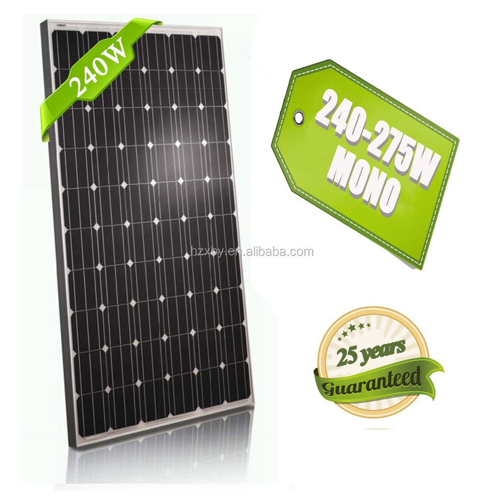 cheap pv 240w 250w high quality solar panel price