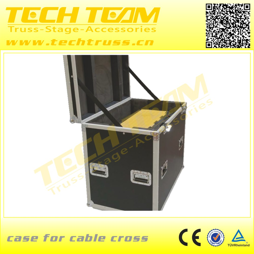 Dual Rubber 5-channel floor popular promotion cable cross for entertainment show