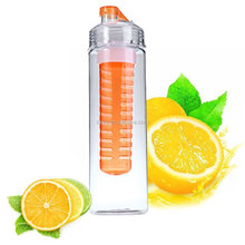 Hot Sale New Plastic BPA Free Sport Fruit Infusion Drink Water Bottle for Healthy Life