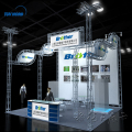 Aluminum trade show display exhibition equipment display stands