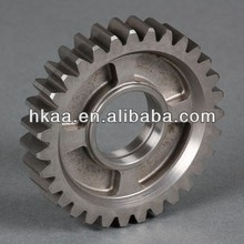 Machining small brass / steel motorcycle timing gear for camshaft