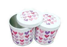Promotional Round Tin Box , Customized Shape and Size from Factory