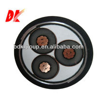 12-volt heater three cores XLPE insulated electrical wire
