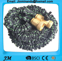 13009 China 150' Expandable Hose, Longest and Strongest Solid Brass Ends, Double Latex core