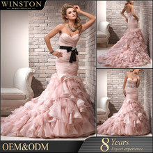2016 China Dress Manufacturer organza butterfly christian wedding sarees