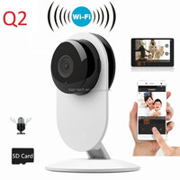 Top Design!!!! Low cost Mini Wifi IP Camera Smart Camera for smart home automation monitoring system