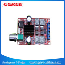 Geree TPA3116D2 DC 12v 24v 50W Digital Class D Stereo Audio Amplifier Board 2 channel