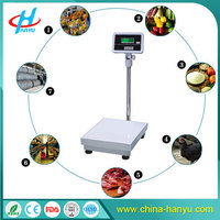 HY-TZP stainless steel electronic 60kg to 300kg weighing platform scale