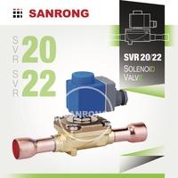 SVR20 SVR22 Refrigeration Diaphragm Operated Solenoid Valve for EVR EVR20 EVR22 032F1240 032F1254 032F1244 032F1245 032F3267