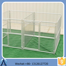Folding metal outdoor dog fence