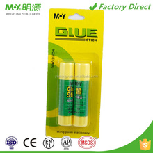 Hot sell high Quality Cheap Price Factory produce yellow Tube Solid Glue stick