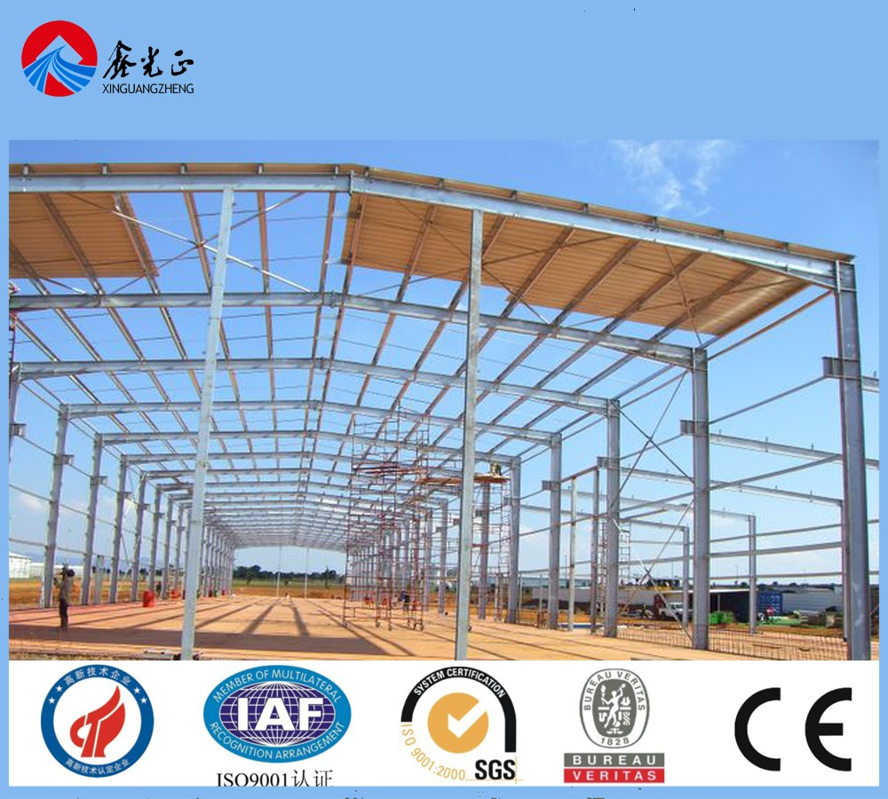 25*50m Low Cost Steel Building warehouse steel structures Price China